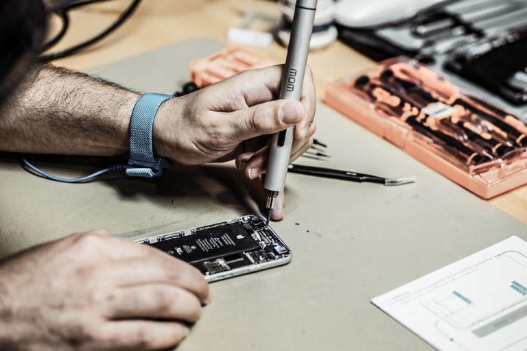 Handy reparieren - Werkstatt